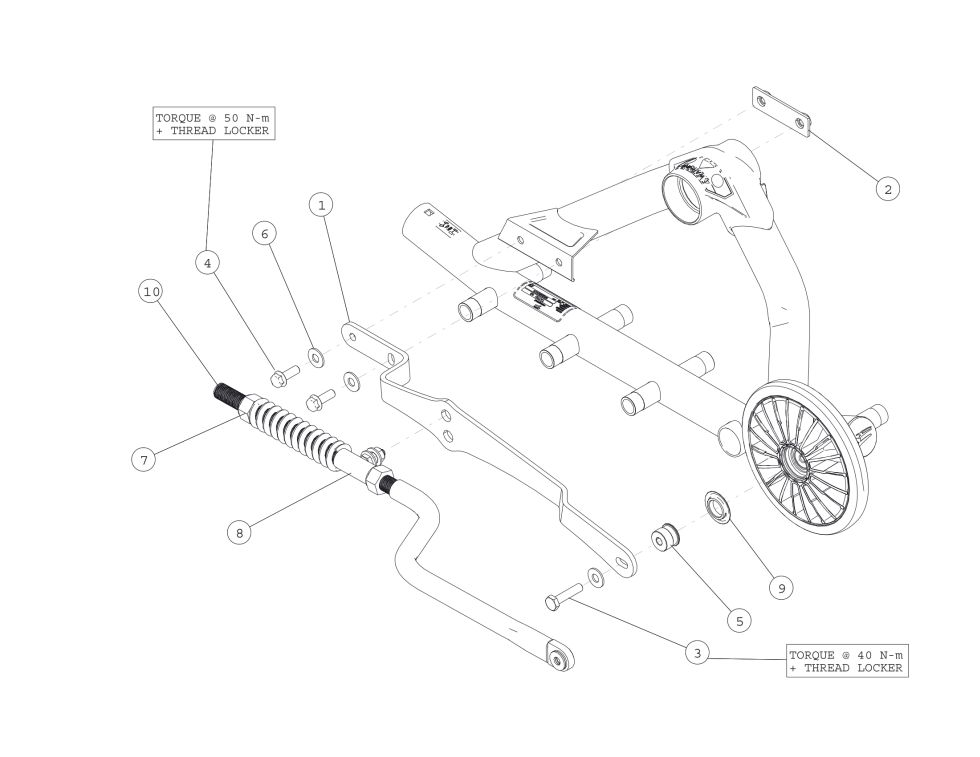 2014 CAMOPLAST ATV T4S RIGID SUSPENSION_0