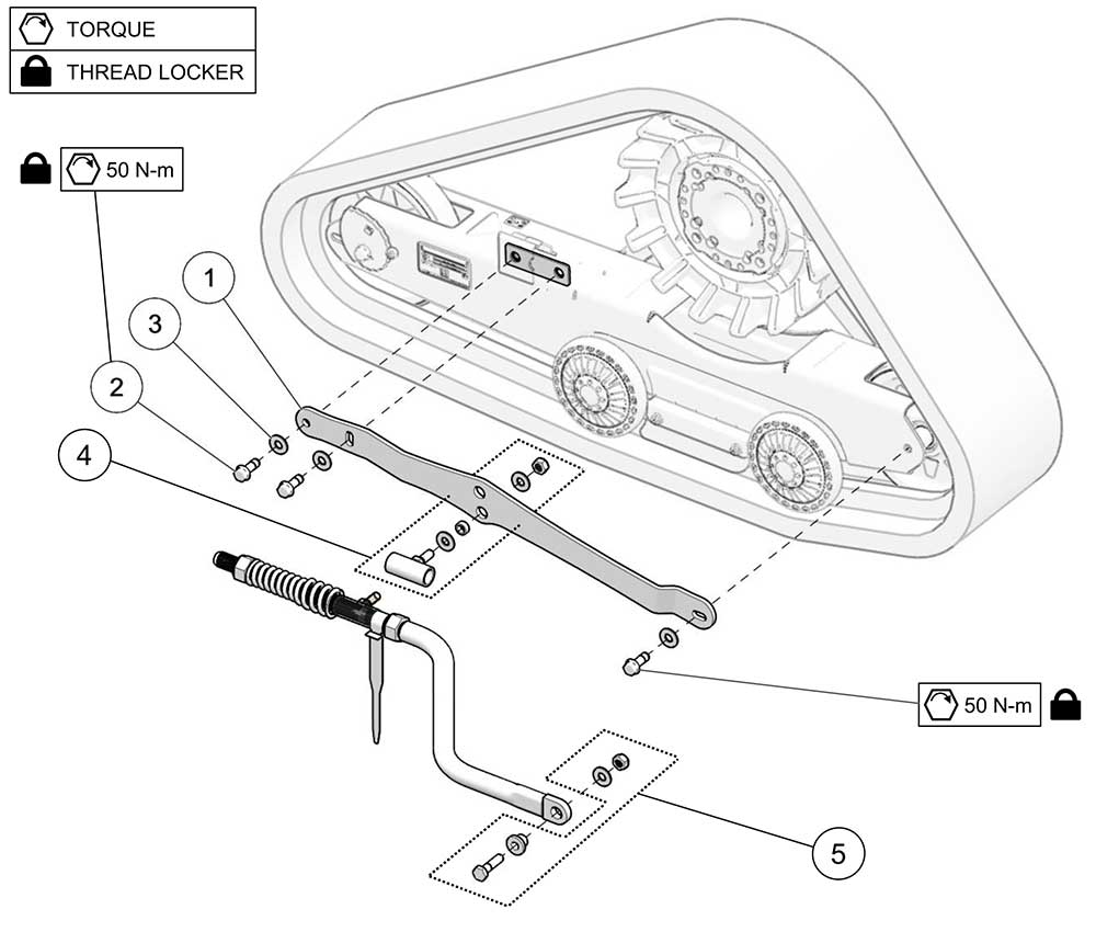 2018 Camso ATV R4S Rigid Suspension (RS)
