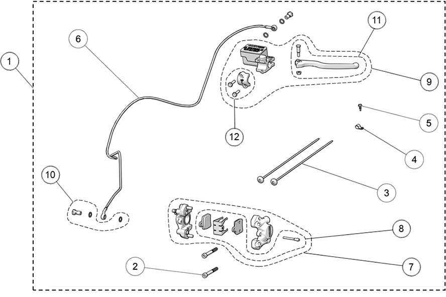 2018 Camso DTS129 Brake System