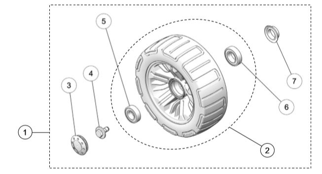 2020 UTV 4S1 241MM Wheel