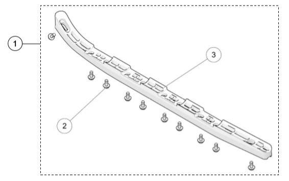 2020 UTV 4S1 Rear Track Guide