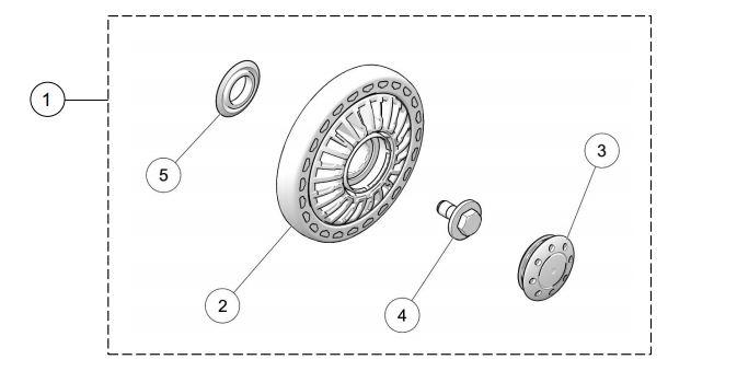 Camso ATV T4S MY2019 134MM Wheel