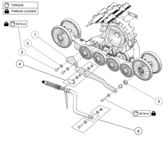 Camso ATV T4S MY2019 Rigid Suspension (RS)