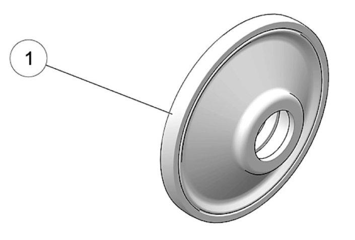 2019 Camso DTS129 162mm Idler Wheel