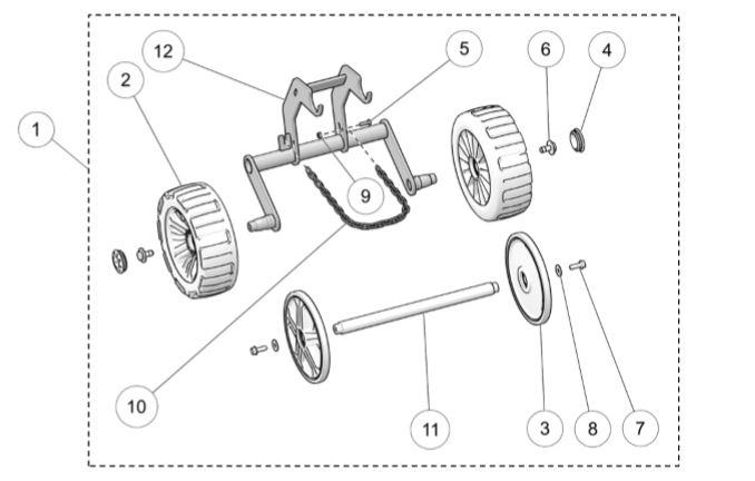 2017 Camso DTS129 Wheel Kit