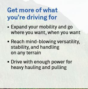 Get more of what you're driving for